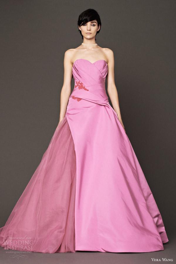 Vera Wang Bridal Fall 2014 Wedding Dresses | Wedding Inspirasi | Page 2