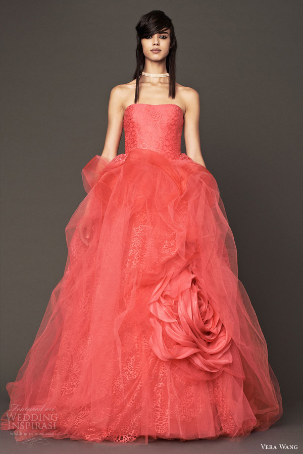 Ball Gown Wedding Dresses By Vera Wang : Vera wang bridal fall wedding dresses