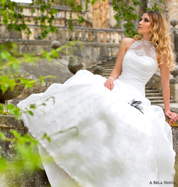 Wedding Dresses Halter Neck