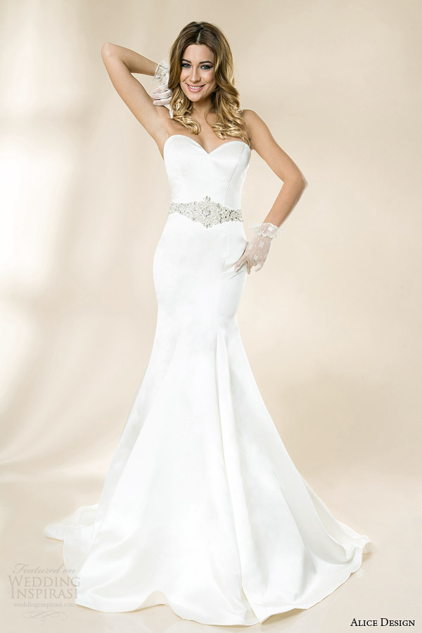 Alice Design 2014 Wedding Dresses — Vintage Love Bridal Collection ...