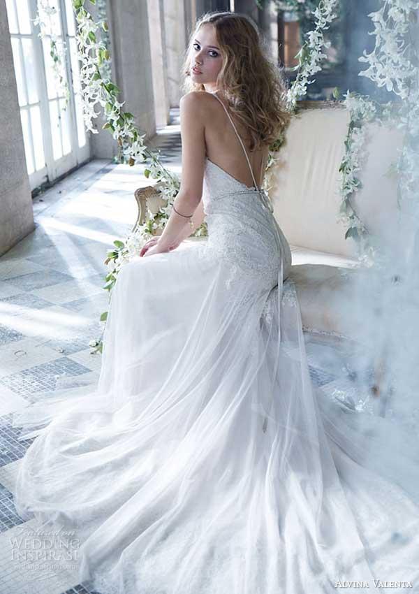 Alvina valenta spring 2014 wedding dresses wedding for Alvina valenta wedding dress