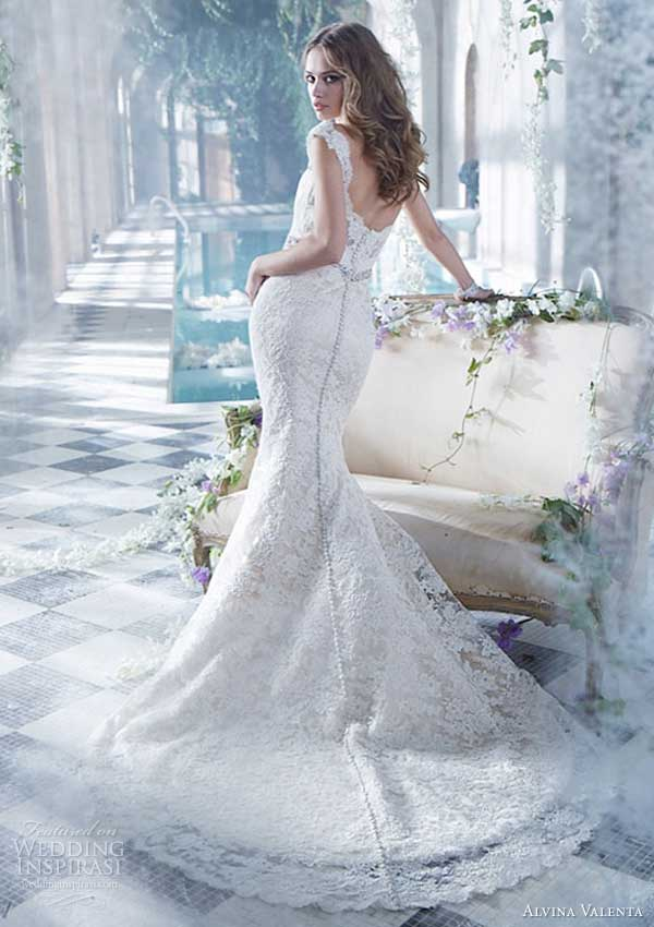 alvina valenta wedding dress spring 2014 lace gown style 9412