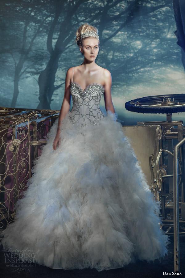 Dar Sara bridal 2014 viena vestido de noiva de cristal swarovski
