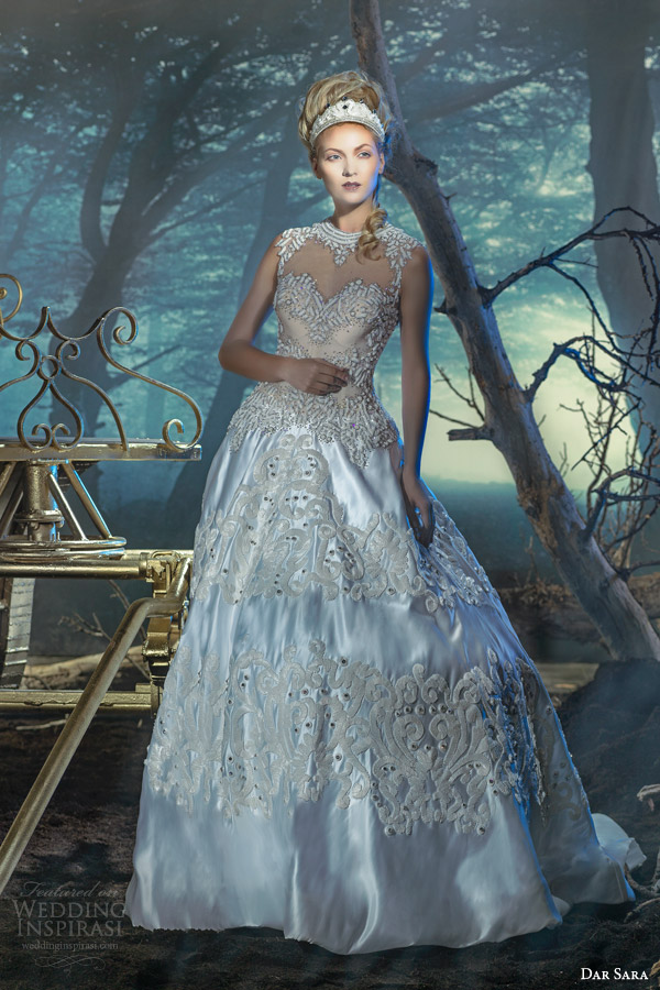 dar sara dubai bridal 2014 vienna bridal collection empress wedding dress