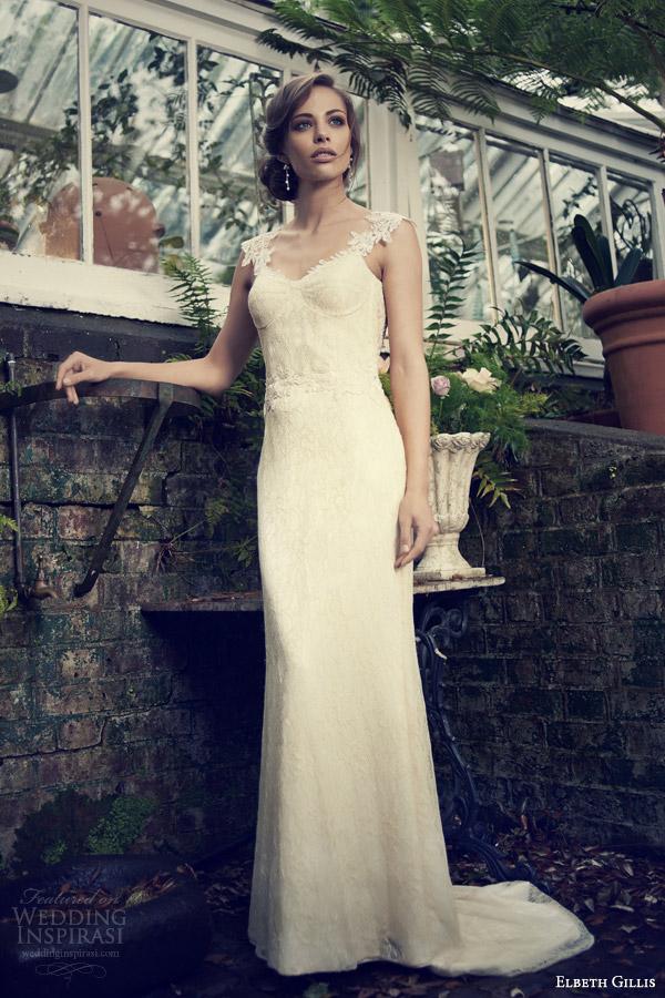 Elbeth Gillis Bridal 2014 Wedding Dresses Wedding Inspirasi