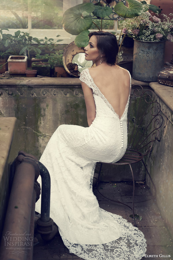 Lace Open Back Wedding Gowns 45 Great elbeth gillis wedding gowns
