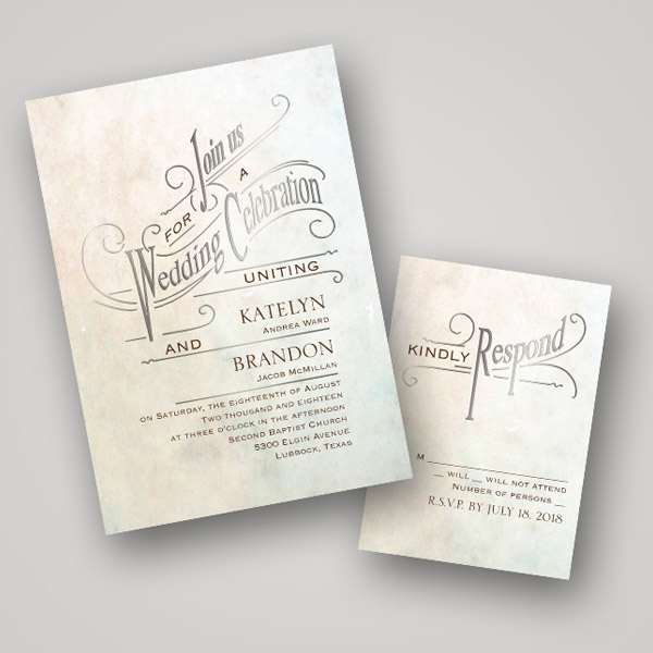 Foil Stamped Wedding Invitations: Hot Trend: Foil Stamped Wedding Stationery From