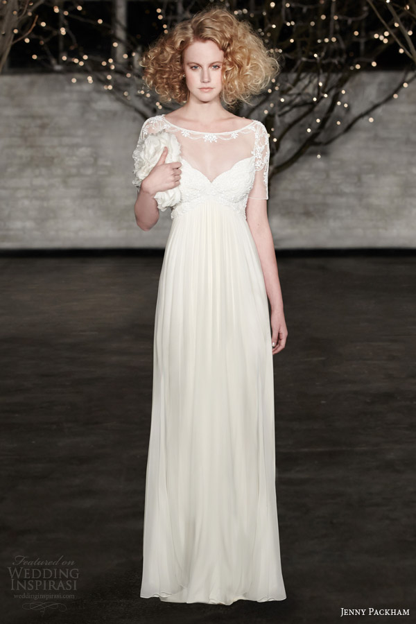 jenny packham bridal spring 2014 genevieve wedding dress