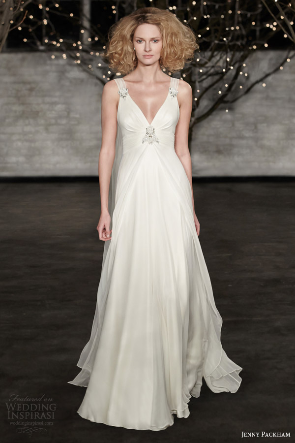 jenny packham wedding dresses spring 2014 ellie gown straps