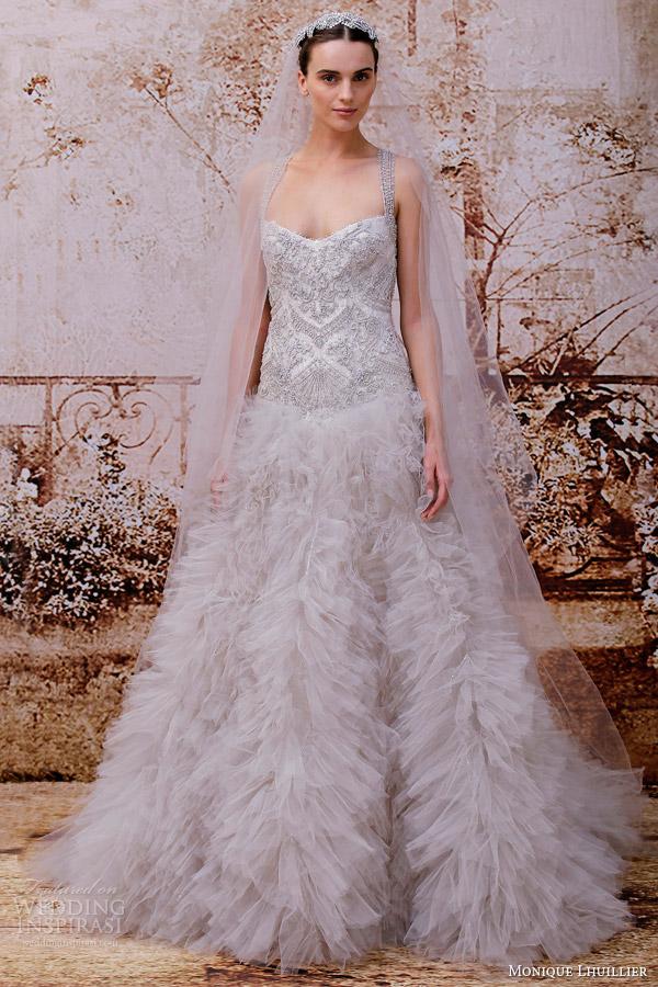 Violet Wedding Dress 6 Vintage monique lhuillier bridal fall