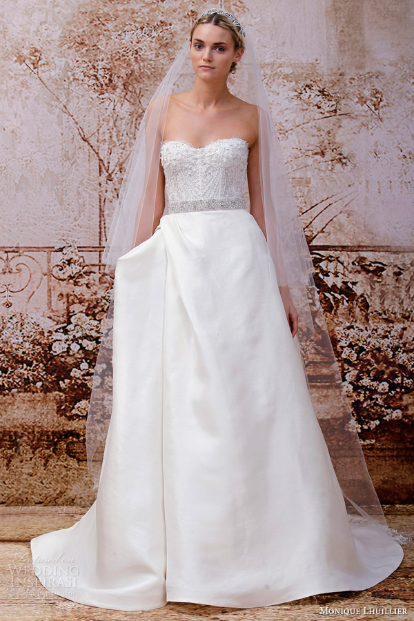 Monique lhuillier fall 2014 wedding dresses wedding for Monique lhuillier bridal designers