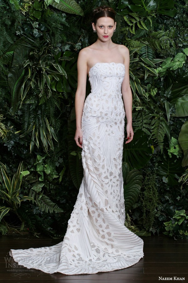 naeem khan bridal fall 2014 wedding dresses wedding