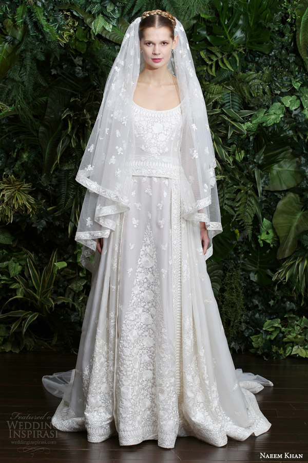 Naeem Khan Bridal Fall 2014 Casablanca Wedding Dress
