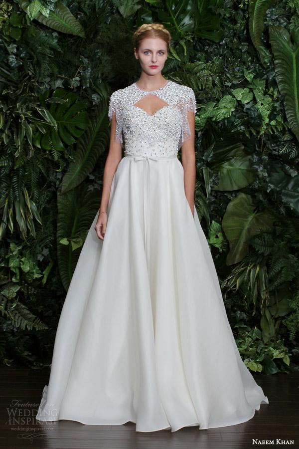 Naeem Khan Bridal Fall 2014 Wedding Dresses Wedding Inspirasi