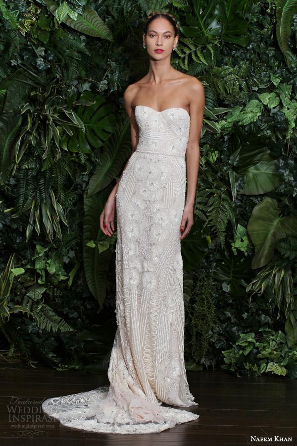 Naeem Khan Bridal Fall 2014 Wedding Dresses Wedding Inspirasi Page 2