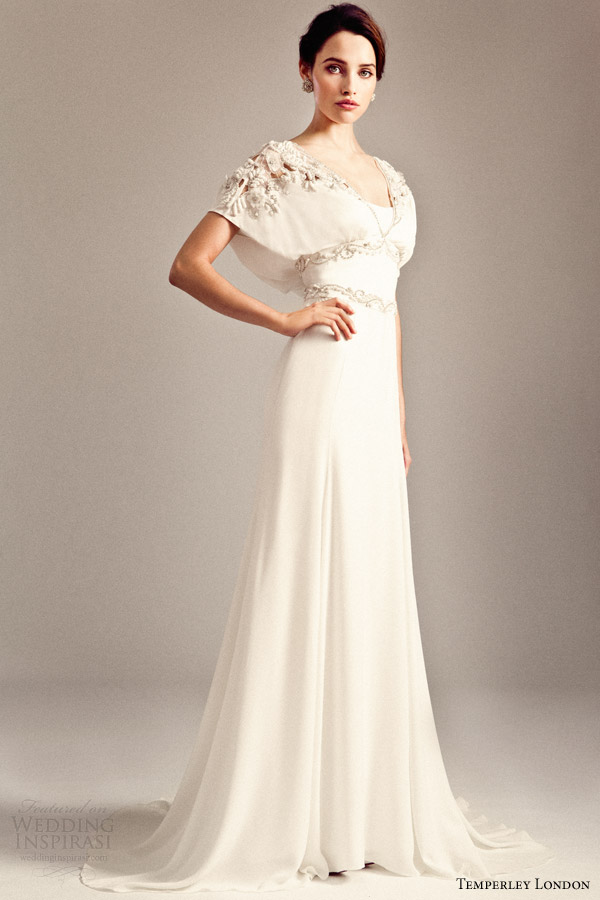temperley bridal fall 2014 2015 iris willow wedding dress