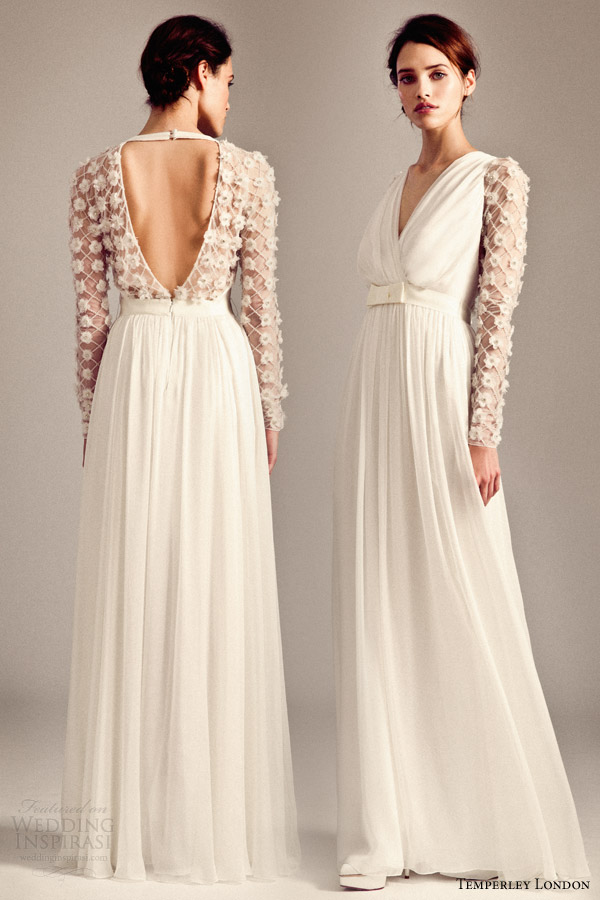 Temperley London 20142015 Wedding Dresses Iris Bridal Collection