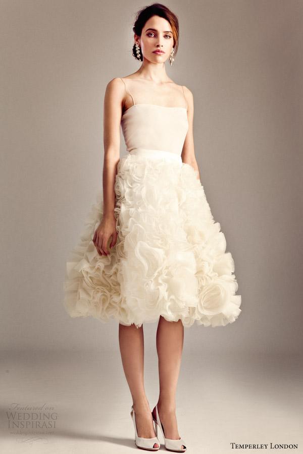 temperley london 2014 bridal iris collection rose skirt
