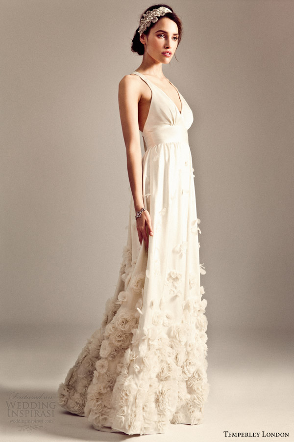 temperley wedding dresses fall 2014 iris bridal collection fiona gown