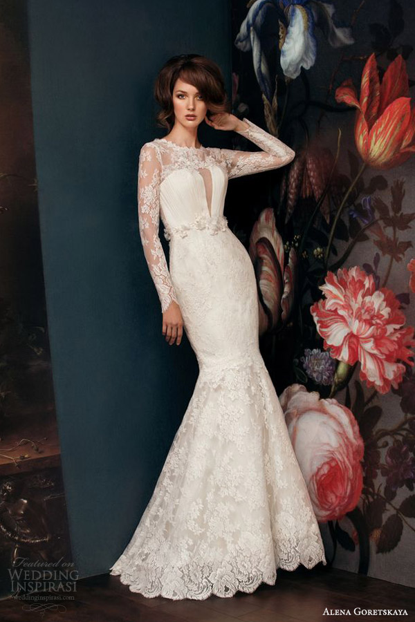 Long Sleeve Mermaid Wedding Dress 33 Best alena goretskaya bridal galatea