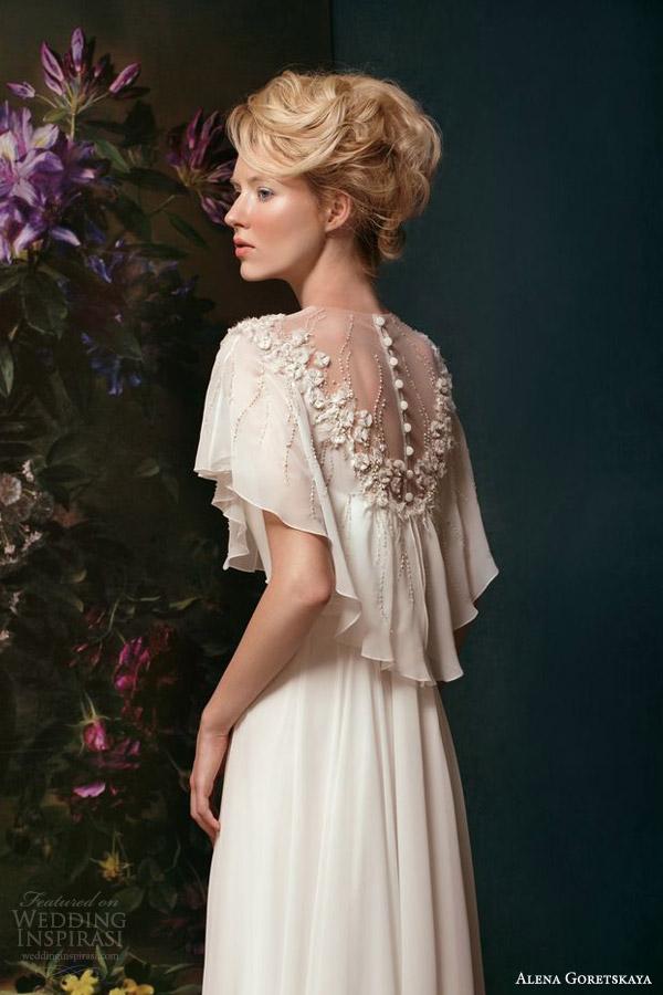 Alena goretskaya 2014 weddding dresses wedding inspirasi for Wedding dress with back detail