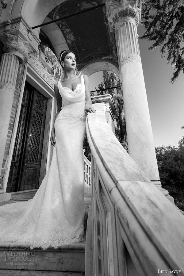 bien savvy bridal 2014 wedding dress brigitte