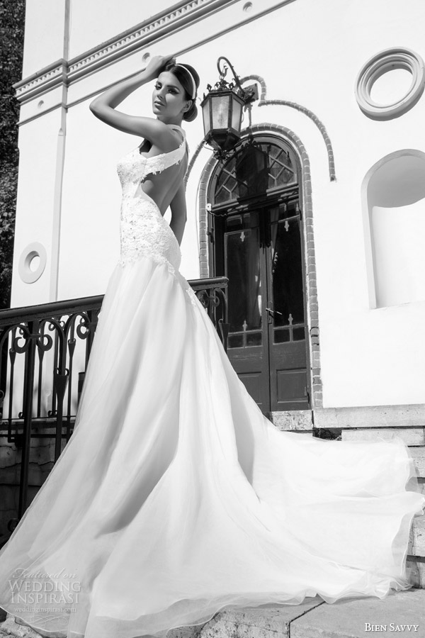 bien savvy bridal one love spring 2014 sylvia wedding dress