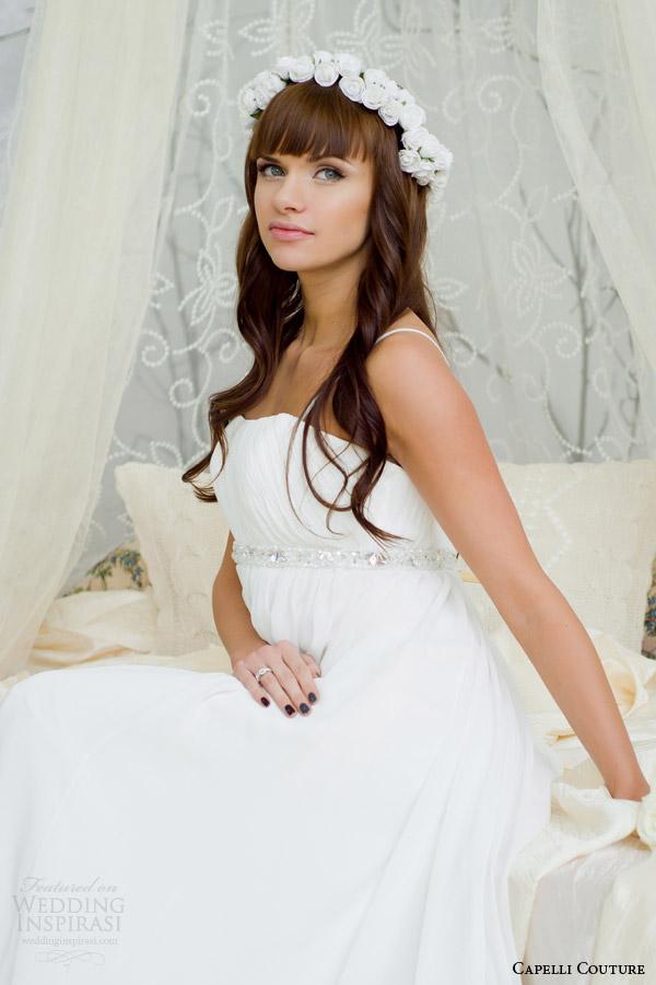 capelli costura vestido de noiva 2014 império princesa