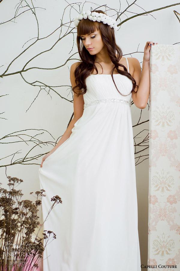 capelli costura vestido de noiva 2014 império