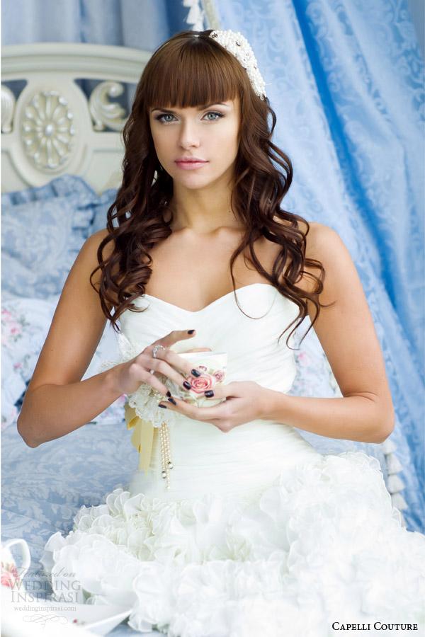 capelli costura 2014 vestido de noiva azul quarto shoot