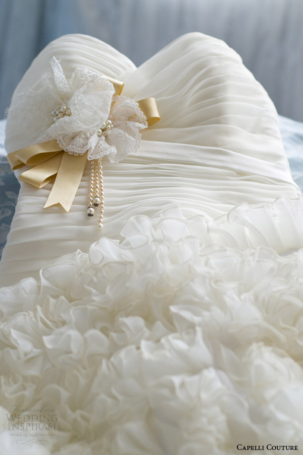 capelli costura 2014 vestido de noiva de perto