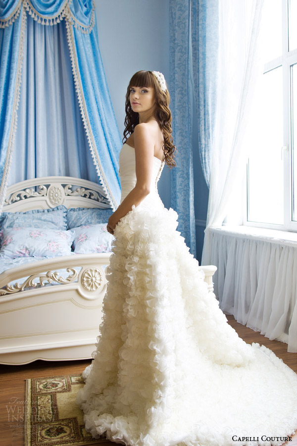 Wedding Dresses Baby Blue 19 Stunning capelli couture wedding dress