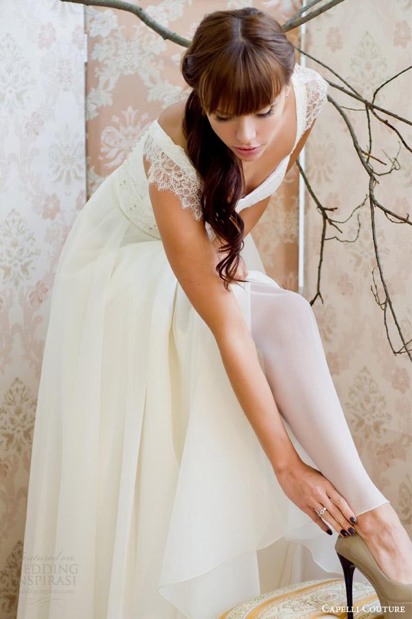 sapato capelli costura 2014 vestido de noiva tiro
