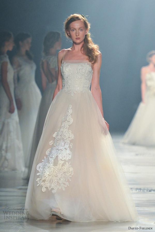 David Fielden Bridal 2017 Wedding Dress Style 8090