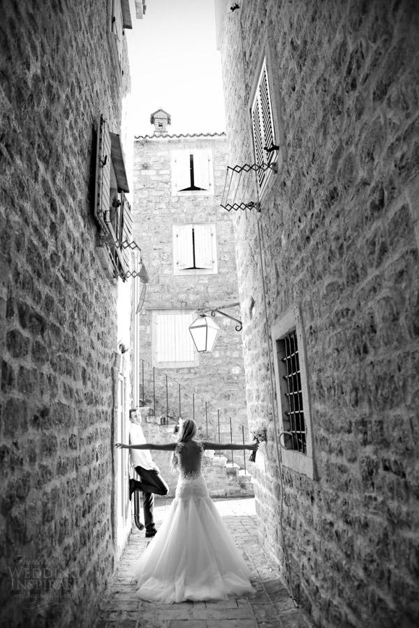 galia Lahav de noiva 2014 fotografia de casamento da noiva real, preto branco