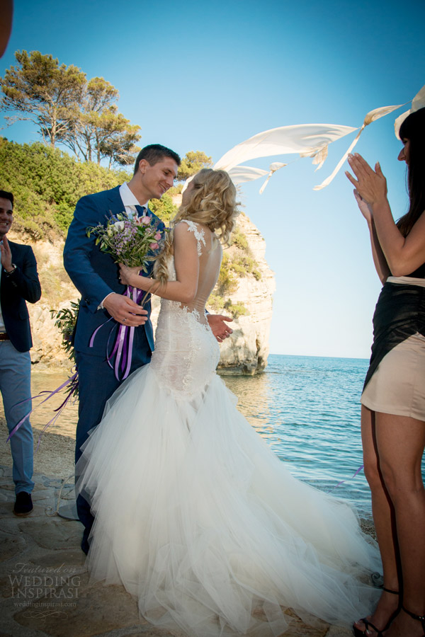 galia Lahav de noiva 2014 noivas reais casal se beijando shoot