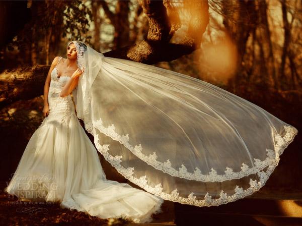 vestidos de noiva galia Lahav 2.014 reais noivas cor sessão de fotos véu