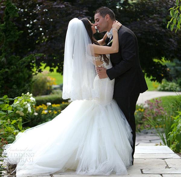 vestido de casamento galia Lahav 2014 beijo da noiva casal de verdade sessão de fotos