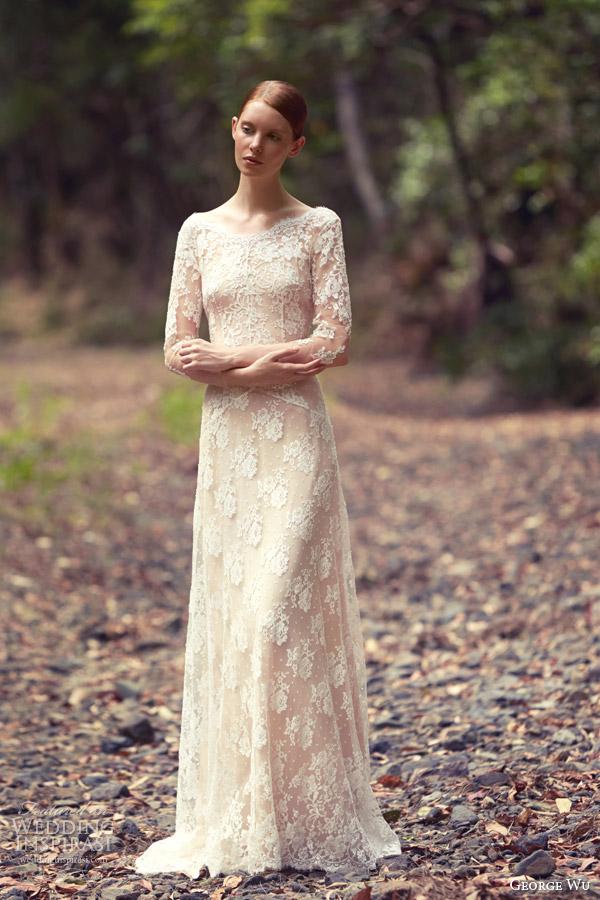 Eden Wedding Dresses 8 New george wu bridal blooms