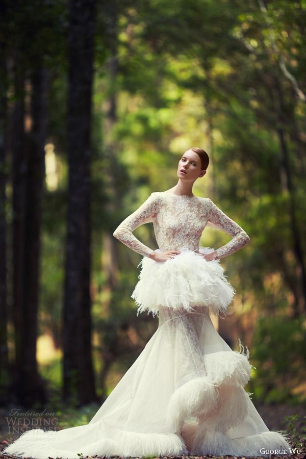 Eden Wedding Dresses 17 Good george wu wedding dresses