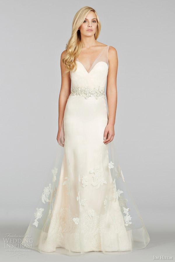 Organza And Tulle Wedding Dresses 21 Amazing jim hjelm spring sleeveless