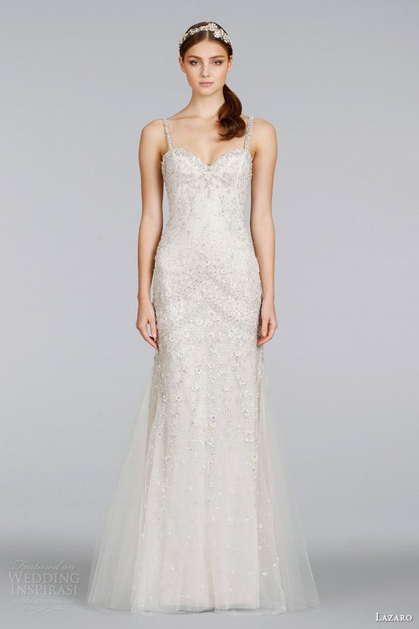 Lazaro Spring 2014 Wedding Dresses Wedding Inspirasi