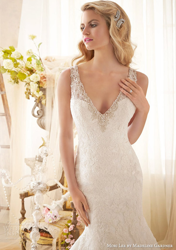 mori lee by madeline gardner bridal spring 2014 sleeveless wedding dress with detachable flutter sleeves style 2613