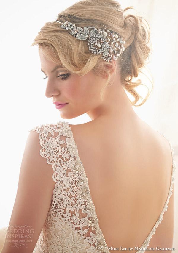 mori lee by madeline gardner bridal spring 2014 wedding dress style 2608 close up low back