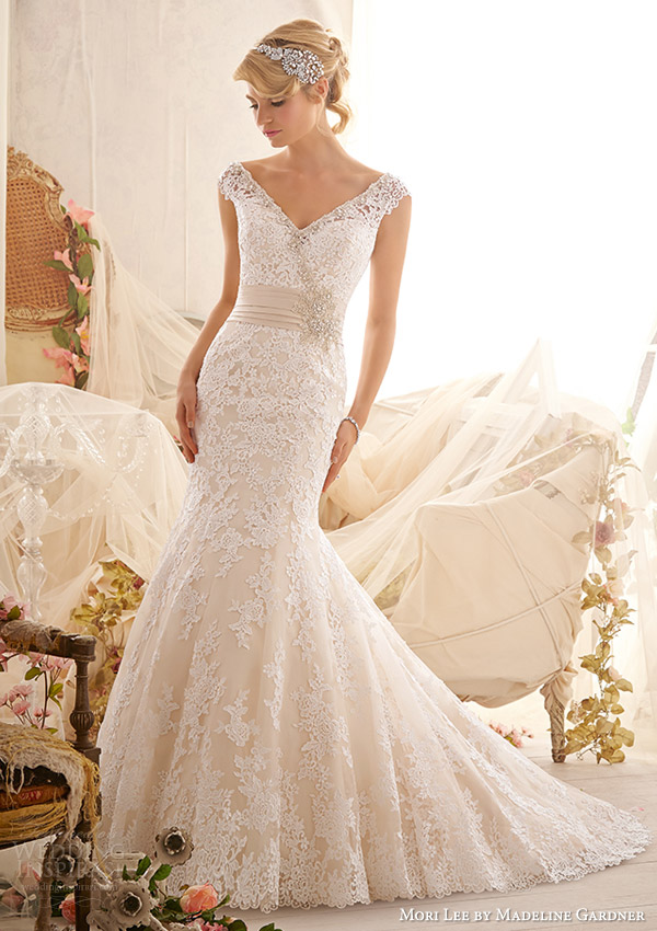 mori lee by madeline gardner bridal spring 2014 wedding dress style 2608