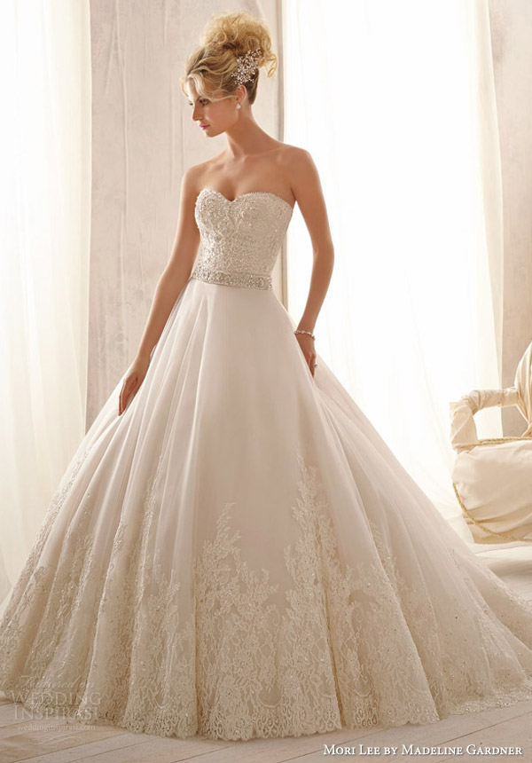 Mori Lee by Madeline Gardner Wedding Dresses : Spring 2014 Bridal ...
