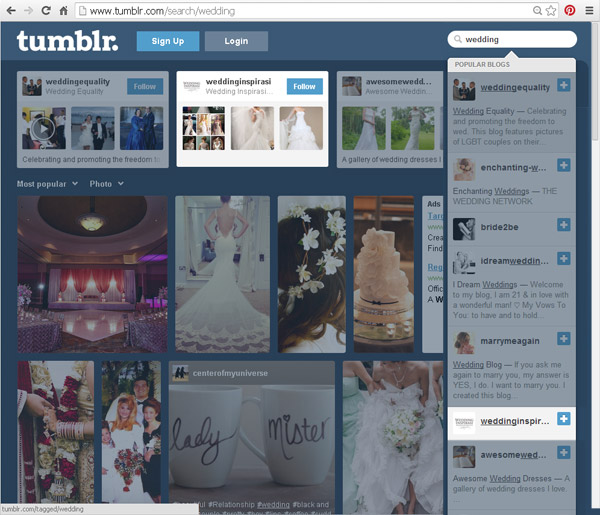 most popular wedding blogs on tumblr wedding inspirasi 600