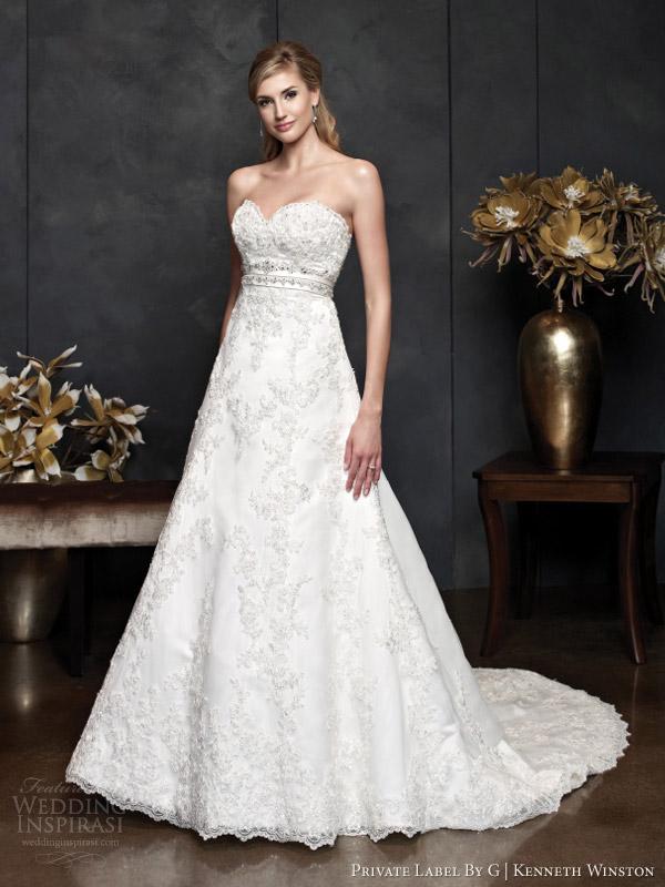 private label por g primavera 2014 Kenneth Winston coleção de noivas vestido de noiva estilo 1557