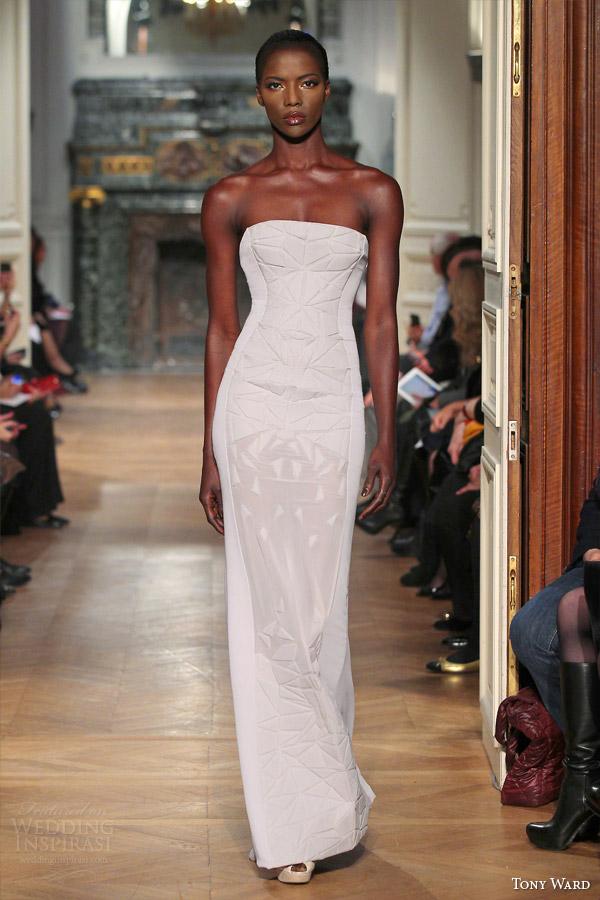 ala primavera tony 2014 costura vestido Branco Alcas SEM