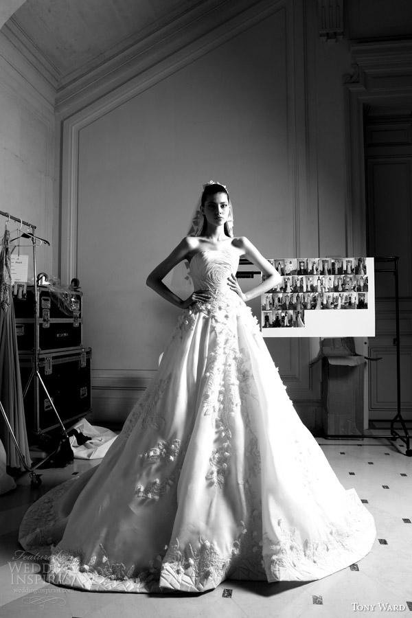 Primavera ala tony 2014 vestido de noiva de Alta Costura